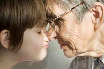 Я вижу смысл жизни в добром отношении к детям, к внукам, в продолжение рода. Фото с сайта sfgate.com