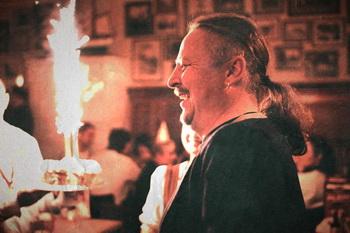 Николай Халезин, со-арт-директор Belarus Free Theatre, Великобритания. Фото со странички Николая в фейсбуке