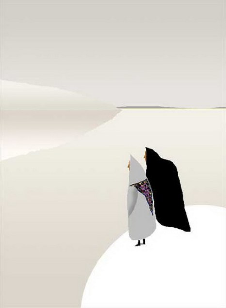 Мы как птицы стоим (по стихам Айги). Художник Рашит Сафиуллин