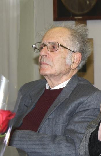 Григорий Померанц, философ и мыслитель. Фото:Ульяна КИМ. Великая Эпоха (The Epoch Times)