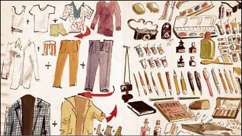 Искусство составления списков. Список Адольфа Конрада, куда он заносил перечень отправляемой заграницу одежды. Фото: с сайта Archives of American Art
