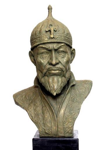 Скульптура Тамерлана, воссозданная по черепу. Фото с сайта museum.ru