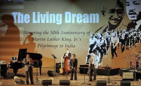 День Мартина Лютера Кинга. Фото:  MANAN VATSYAYANA/AFP/Getty Images