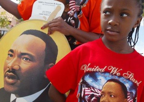 День Мартина Лютера Кинга. Фото:  Joe Raedle/Getty Images