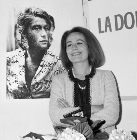 Актриса Анни Жирардо. Незабываемые моменты в жизни и в кино. Фото: AFP/Getty Images