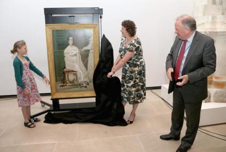 Картина «Мадемуазель Клаус» Мане выставлена в музее в Оксфорде. Фото: Chris Jackson/Chris Jackson for Ashmolean Museum