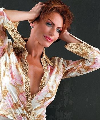 Ирина Понаровская не покинет Россию. Фото с сайта iponarovskaya.ru