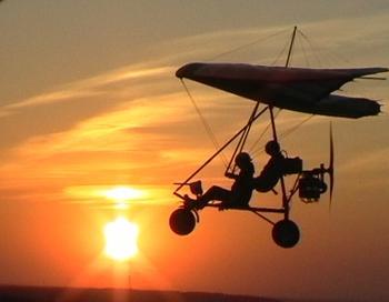 В Бурятию прибыли путешественники на дельтаплане. Фото с сайта  deltaplanerism.ru