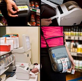 Принтеры печати этикеток штрих-кода. Фото: progressid.ru