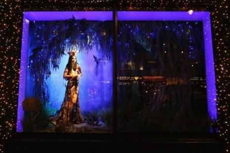 Рождественские витрины универмага Selfridges в Лондоне. Фоторепортаж. Фото: Oli Scarff/Getty Images