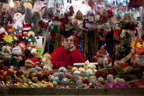 Рождественские базары в Мадриде. Фоторепортаж. Фото: Pablo Blazquez Dominguez/Getty Images