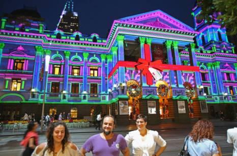 Мельбурн сверкает рождественскими огнями. Фото: Scott Barbour/Getty Images