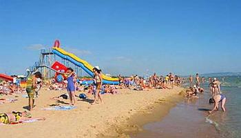 Под Анапу на отдых. Пляж в Витязево. Фото: vitaz-dom.ru