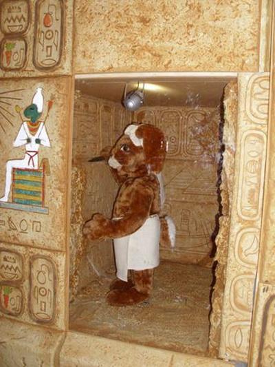 Роспись стен внутри пирамиды. Фото с сайта epochtimes.de
