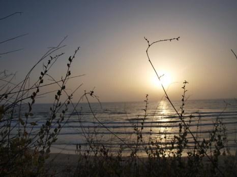 Хайфа, вечернее море. Фото: Хава ТОР/Великая Эпоха