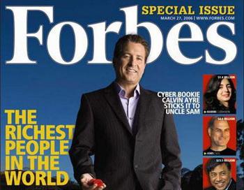 Журнал Forbes пишет: рынок утратил доверие к Путину. Фото:obozrevatel.com/new