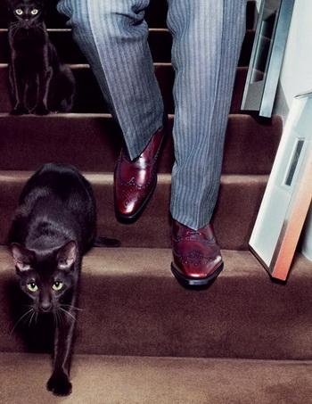 Советы по уходу за мужской обувью. Фото с gommeux.ru