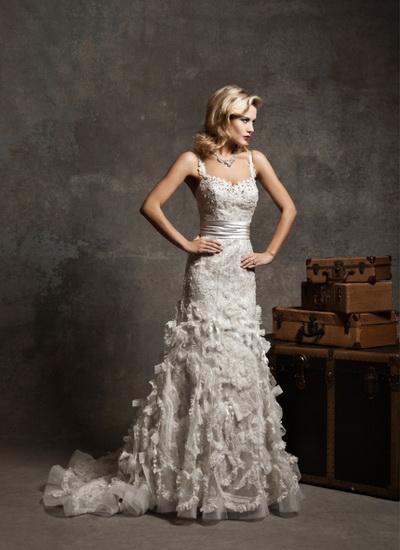 Винтажные свадебные платья. Фото с salonfleur.ru