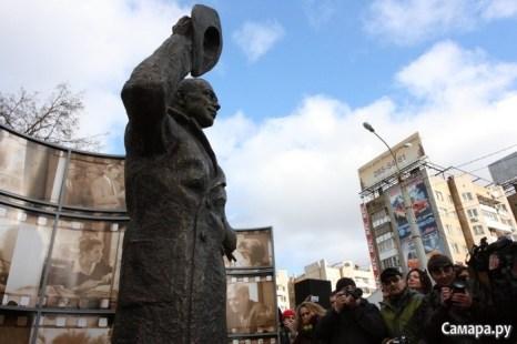Пасятник Юрию Деточкину. Фото с сайта Самара.ру