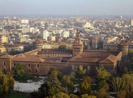 Замок Сфорца, Милан. Фото: Mauriziozanoni/commons.wikimedia.org