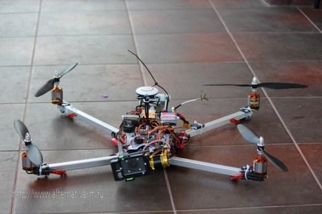 Что такое квадрокоптер. Фото с alternativa-m.ru