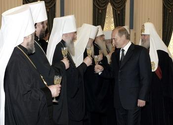 Церковь и власть. Фото: ALEXEY PANOV/AFP/Getty Images