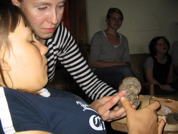 «Утренний круг». Как пахнет гриб? Фото: Татьяна Петрова/Великая Эпоха (The Epoch Times)