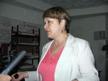 Надежда Егорова, председатель Совета центра «Доверие». Фото: Татьяна Петрова/Великая Эпоха (The Epoch Times)
