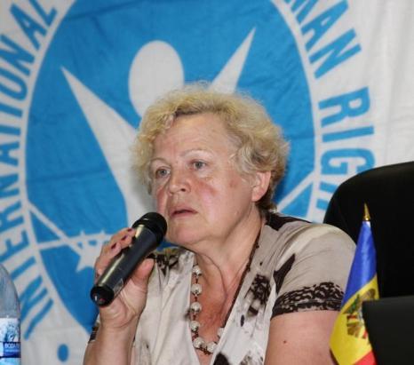 Любовь Немчинова - президент Молдавской секции МОПЧ. Фото: Ульяна Ким/Великая Эпоха (The Epoch Times)