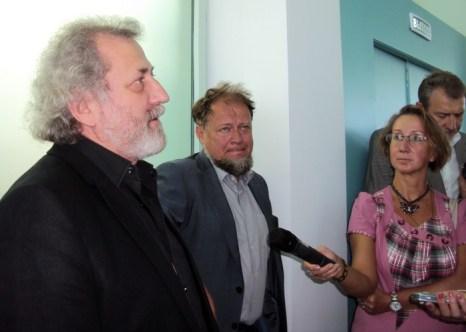 Борис Эйфман, Никита Явейн. Фото: Светлана Иванова