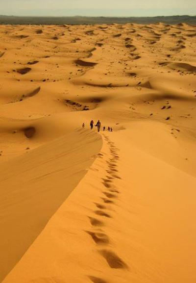 Марокко. Пустыня Сахара. Фото: Татьяна Игауне/Великая Эпоха (The Epoch Times)