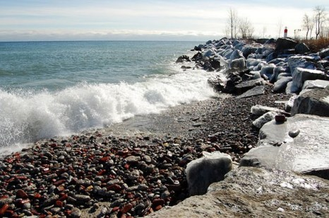 Канада. На берегу Онтарио. Фото: Сил Либар/Великая Эпоха/The Epoch Times, Канада