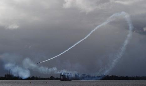 Red Bull Air Race. Крутой вираж.  Фото: Mike Hewitt/Getty Images