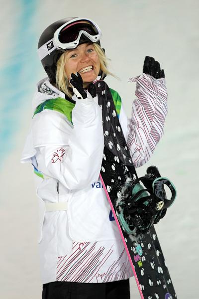 Олимпиада в Ванкувере. Сноубординг.Mercedes Nicol. Фото:Streeter Lecka/Getty Images Sport
