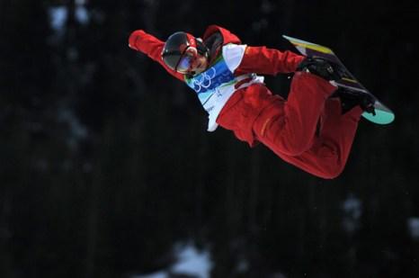 Олимпиада в Ванкувере. Сноубординг.Liu Jiayu, Китай. Фото:ADRIAN DENNIS/Getty Images Sport