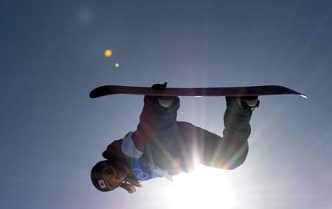 Олимпиада в Ванкувере. Сноубординг.Shiho Nakashima, Япония.  Фото:MARTIN BUREAU/Getty Images Sport