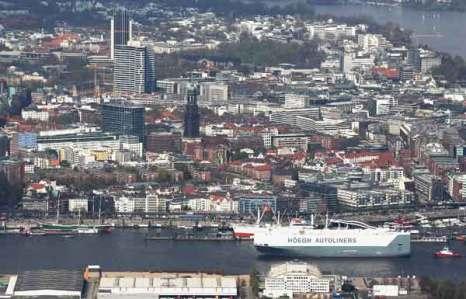 Гамбург. Вид с воздуха. Фото: Andreas Rentz/Getty Images