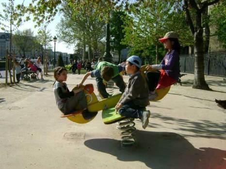 Парижские дети. Фото: Ирина Павловская/Великая Эпоха