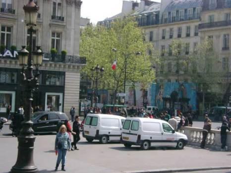 В центре Парижа. Фото: Ирина Павловская/Великая Эпоха
