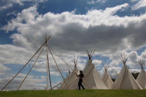 Подготовка Гластонберийского фестиваля. Фото: Matt Cardy/Getty Images