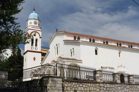 Церковь святого Николая в Полигиросе. Фото: Сима Петрова/Великая Эпоха