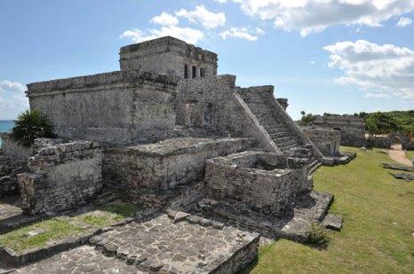 Главный храм фресок. Тулум, древний город цивилизации майя. Фото: CRIS BOURONCLE/AFP/Getty Images
