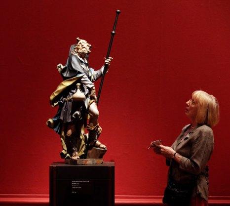 Выставка в Лондоне «Сокровища из Будапешта». Фото: Oli Scarff/Getty Images
