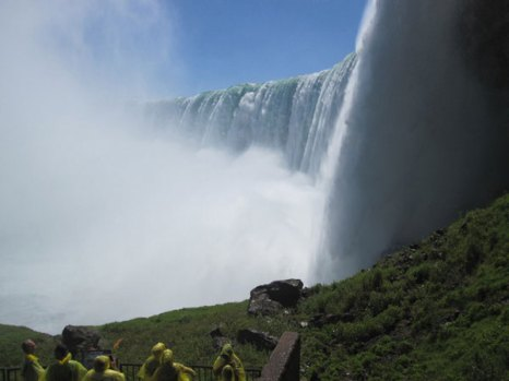 Bодопад «Подкова» (англ. Horseshoe Falls). Фото: Ирина Лаврентьева/Великая Эпоха