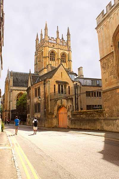 Оксфорд. Мадлен-колледж.  Фото: Ирина Рудская/Великая Эпоха