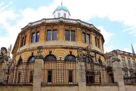 Оксфорд. Бодлеанская библиотека. Фото: Ирина Рудская/Великая Эпоха