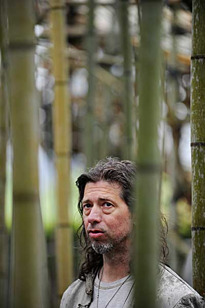 Нью-Йорк. Строительство «Большого Bamb» в Центральном парке.  Фото: STAN HONDA/AFP/Getty Images