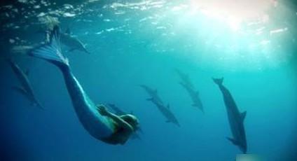 Хорошо быть русалкой. Фото с kanzhongguo.com