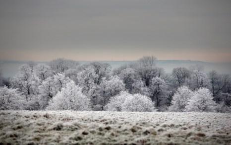 Зимние пейзажи Англии. Часть 2. Фото: Matt Cardy/Getty Images