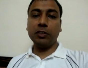 Винод из Индии, 30 лет, один из 78 000 человек, которые подали заявки для того, чтобы отправиться на Марс. Фото: Mars One